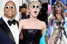 Celebrities with Googly Eyes