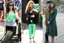 Who Had the Cutest St. Patrick's Day Outfit? Vote!
