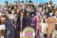 Someone Recreated the 'Sgt. Pepper's Album Cover with 2016's Trail of Dead Celebrities