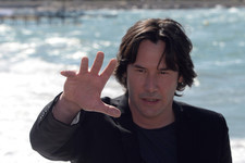Keanu Reeves Has a Nice Reflective Moment by the Sea