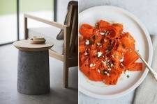 Hot on Pinterest: Wallpaper, Carved Stone, and Carrot Salad