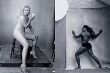 Amy Schumer and Serena Williams Pose Topless for the 2016 Pirelli Calendar