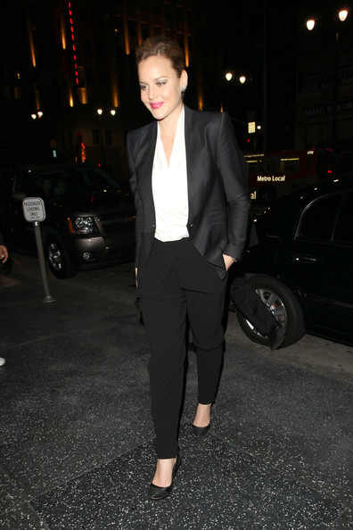 Abbie Cornish Blazer