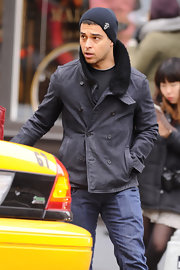 Wilmer Valderra wore a comfy looking boonie hat while out in NYC.