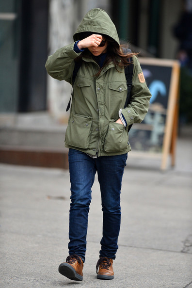 More Pics of Ellen Page Military Jacket (1 of 6) - Military Jacket Lookbook - StyleBistro