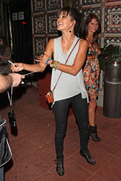 More Pics of Jessica Szohr Leather Purse (1 of 12) - Leather Purse Lookbook - StyleBistro