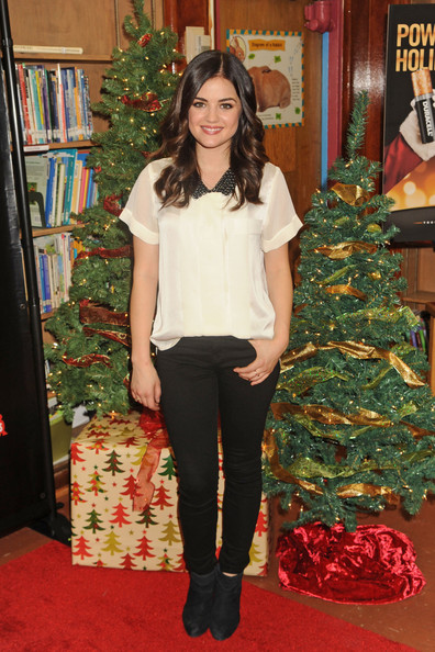 More Pics of Lucy Hale Loose Blouse (1 of 6) - Lucy Hale Lookbook - StyleBistro
