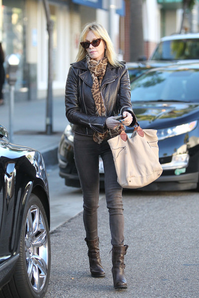 More Pics of Melanie Griffith Leather Jacket (2 of 11) - Leather Jacket Lookbook - StyleBistro