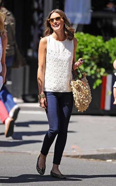 More Pics of Olivia Palermo Tank Top (1 of 10) - Olivia Palermo Lookbook - StyleBistro