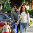Alessandra Ambrosio With Her Husband and Family in Los Angeles