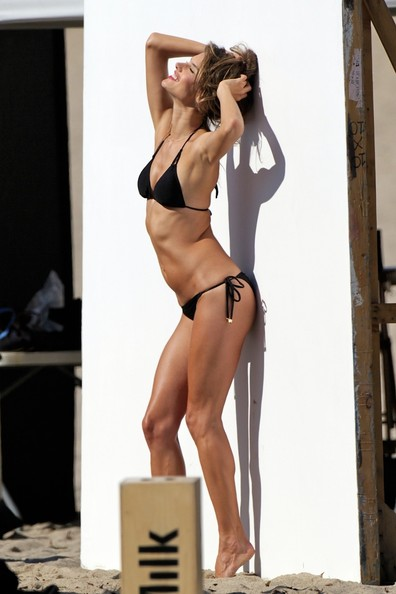 More Pics of Alessandra Ambrosio String Bikini (1 of 27) - String Bikini Lookbook - StyleBistro