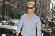 Alexander Skarsgard Button Down Shirt