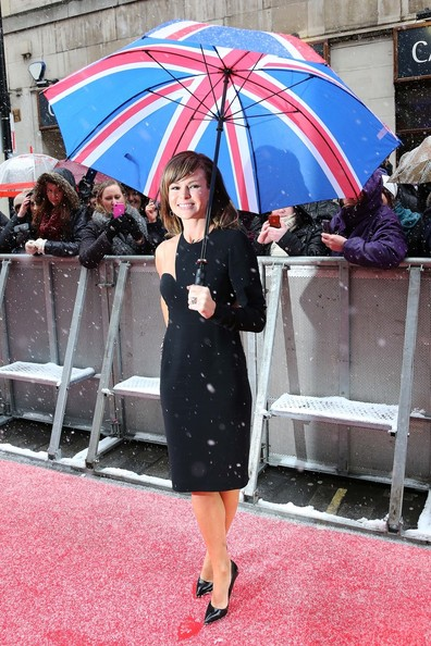 Amanda Holden Print Umbrella