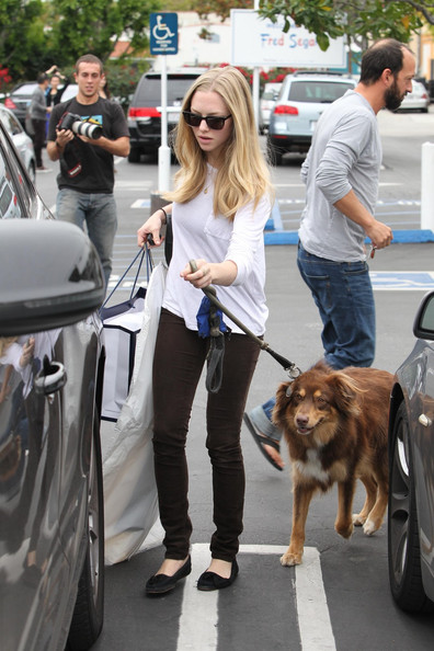 Amanda Seyfried Skinny Pants