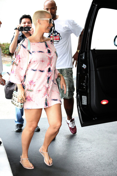 More Pics of Amber Rose Print Dress (2 of 22) - Amber Rose Lookbook - StyleBistro