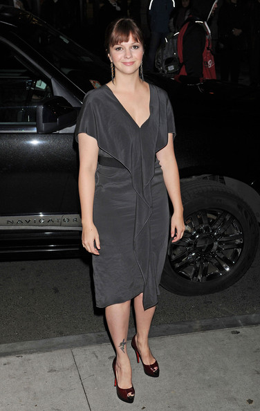 Amber Tamblyn Platform Pumps