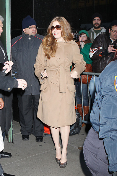 Amy Adams Wool Coat
