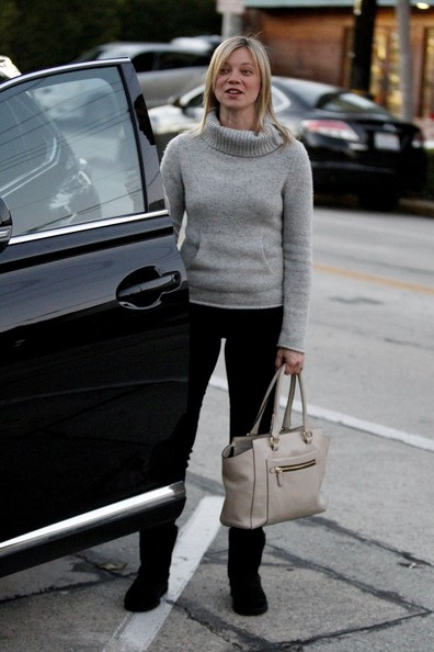 Amy Smart Leather Tote
