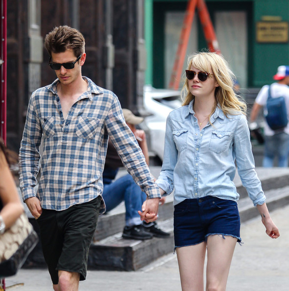 More Pics of Emma Stone Denim Shirt (5 of 10) - Emma Stone Lookbook - StyleBistro