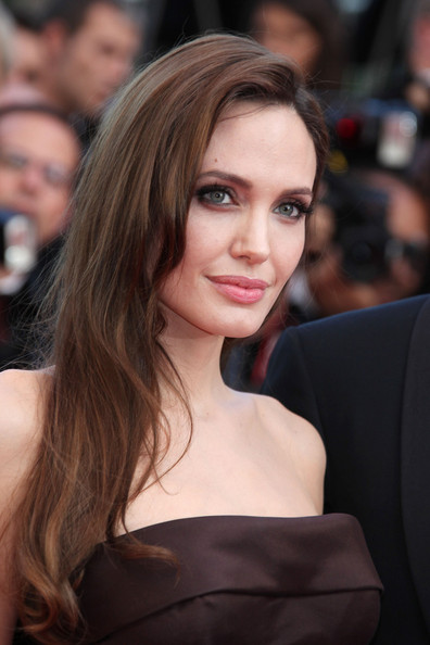Angelina Jolie Smoky Eyes