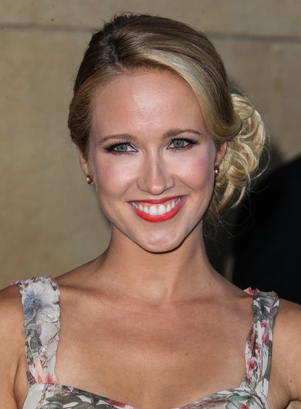 Anna Camp Loose Bun
