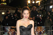 Anna Popplewell Strapless Dress