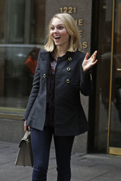 AnnaSophia Robb in NYC 2