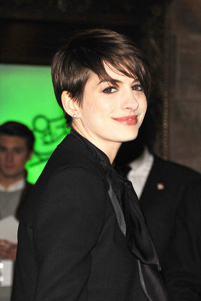 More Pics of Anne Hathaway Pixie (1 of 6) - Short Hairstyles Lookbook - StyleBistro