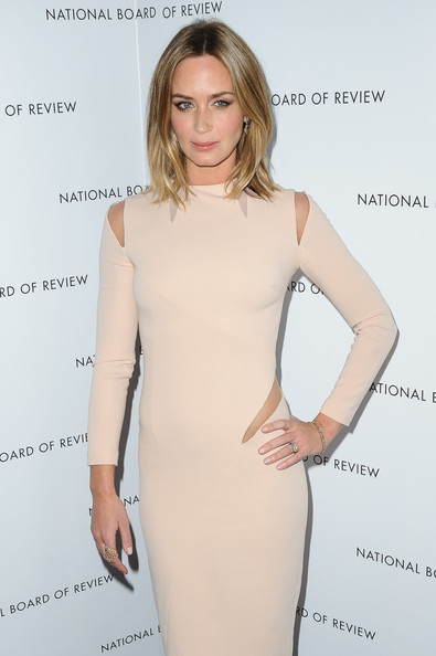 More Pics of Emily Blunt Cutout Dress (1 of 3) - Cutout Dress Lookbook - StyleBistro