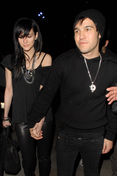 Ashlee Simpson Long Straight Cut with Bangs