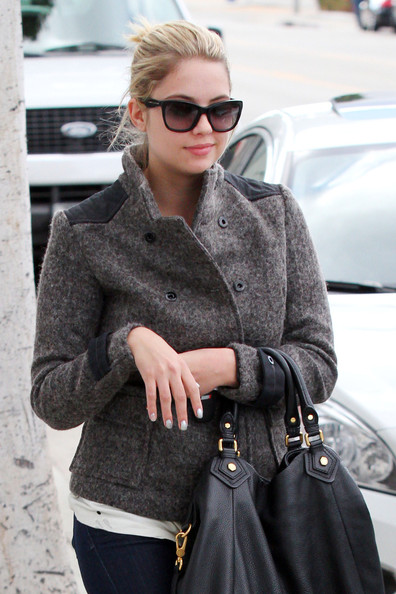 Ashley Benson Cateye Sunglasses