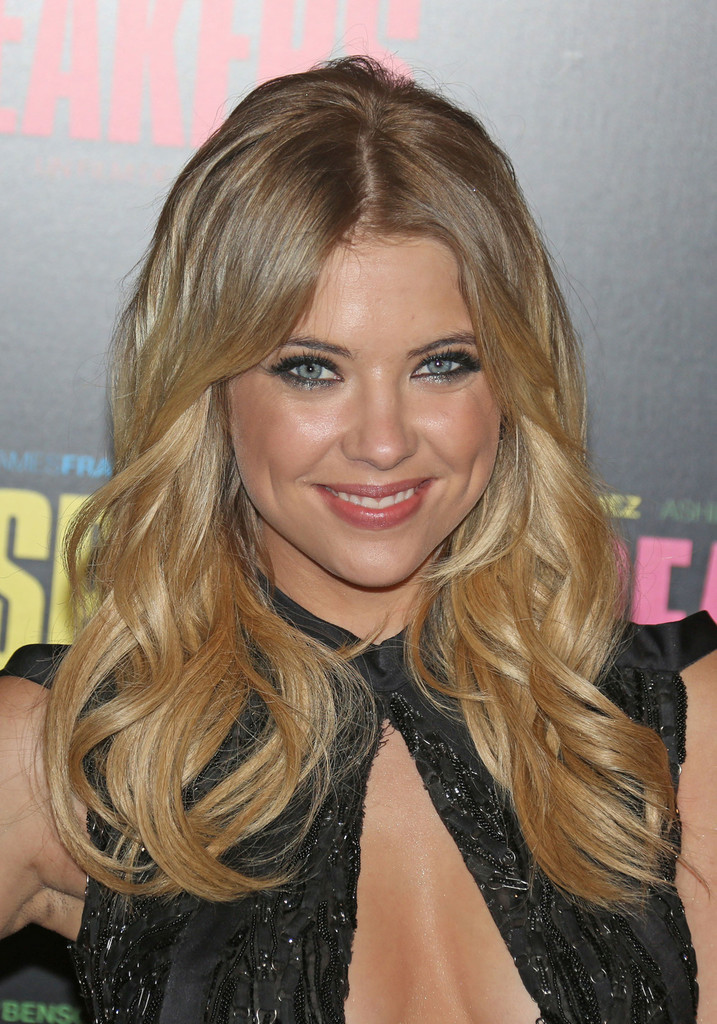 Ashley Benson Long Curls Long Hairstyles Lookbook Stylebistro