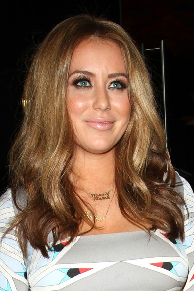 Aubrey O'Day Gold Charm Necklace
