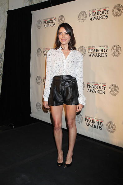 Aubrey Plaza Dress Shorts