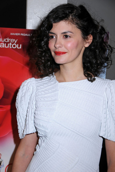 Audrey Tautou Medium Curls