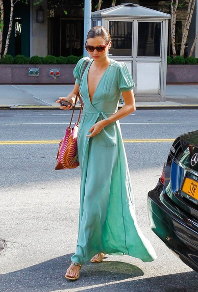 More Pics of Miranda Kerr Maxi Dress (1 of 18) - Clothes Lookbook - StyleBistro