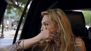 Adrienne Maloof dolled herself up with a huge pair of crystal chandelier earrings and a statement ring on this episode of 'Real Housewives.'