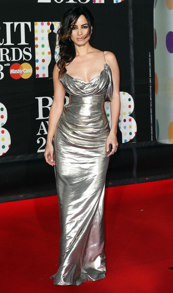 Red Carpet Arrivals at the Brit Awards
