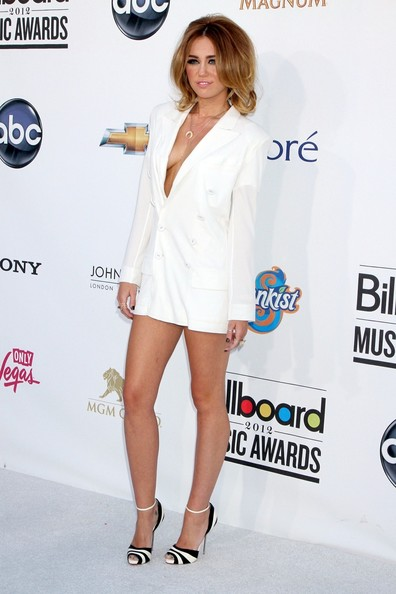 Miley Cyrus's No-Pants Look
