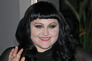 Beth Ditto Long Wavy Cut with Bangs
