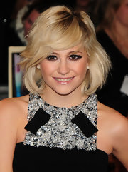 Pixie Lott wore her adorable layered bob perfectly tousled at the UK premiere of 'The Twilight Saga: Breaking Dawn Part 1.'