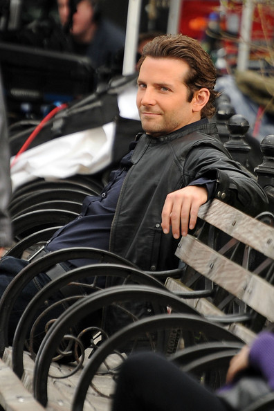 Bradley Cooper Layered Razor Cut