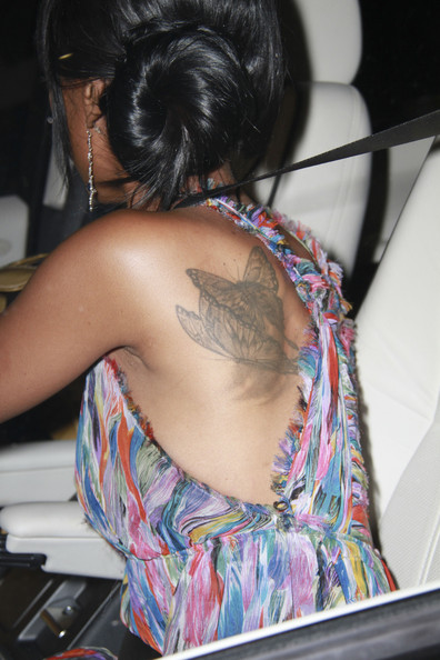 Brandy's Butterfly Tattoos
