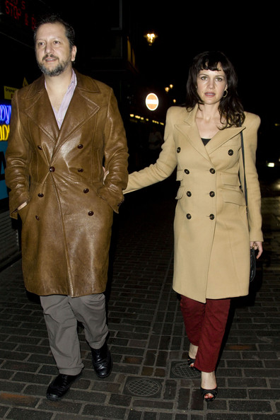 Carla Gugino Wool Coat