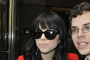 Carly Rae Jepsen Oversized Sunglasses