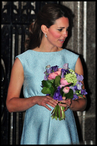More Pics of Kate Middleton Half Up Half Down (3 of 11) - Updos Lookbook - StyleBistro