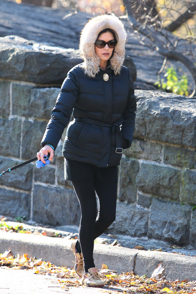 Catherine Zeta-Jones Down Jacket