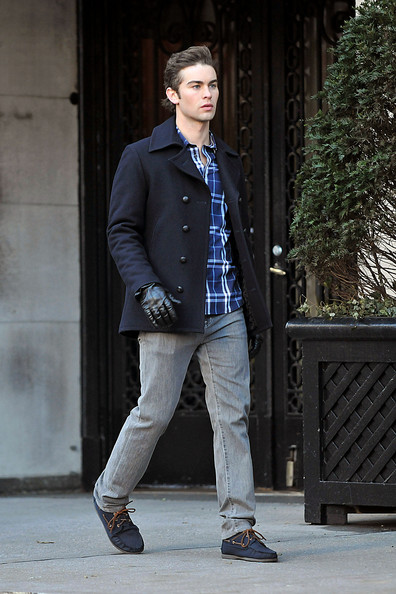 Chace Crawford Pea Coat []