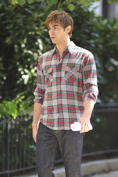 Chace Crawford Button Down Shirt []