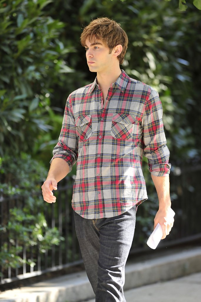Chace Crawford Button Down Shirt Chace Crawford Clothes